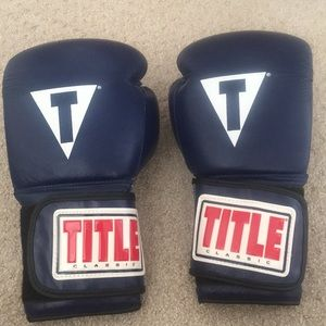 Title 14oz Boxing Gloves